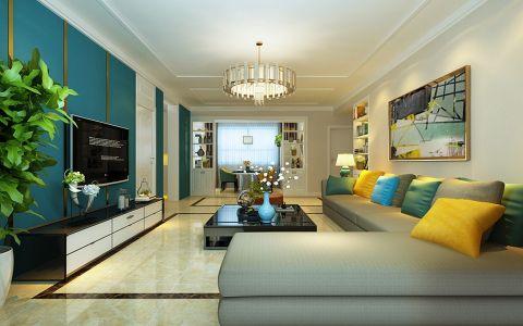 2020现代简约110平米装修设计 2020现代简约楼房图片