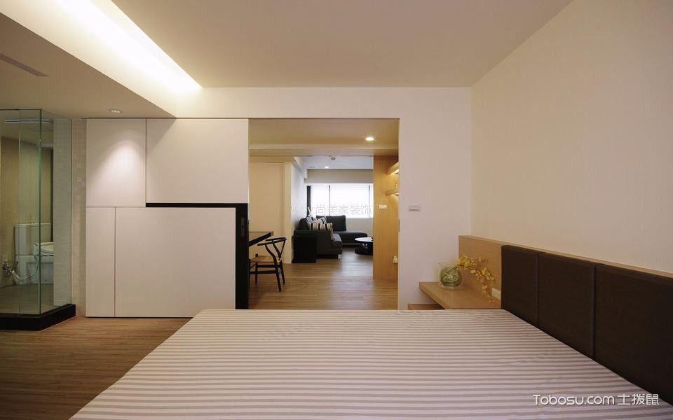 卧室白色走廊现代风格装潢效果图