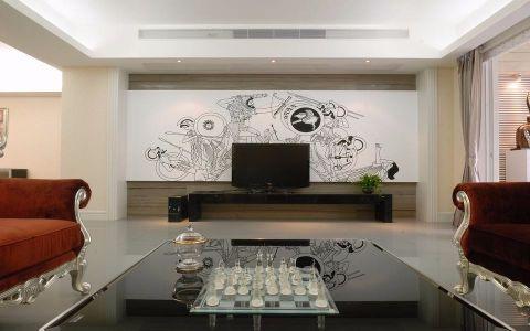 客厅简约风格装饰设计图片