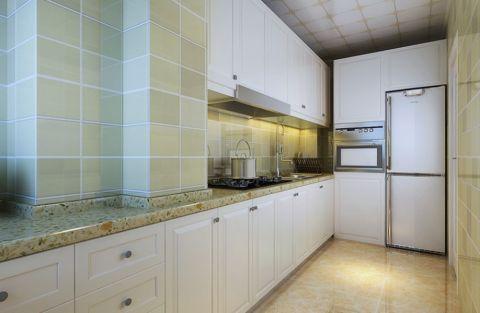 厨房背景墙简欧风格效果图