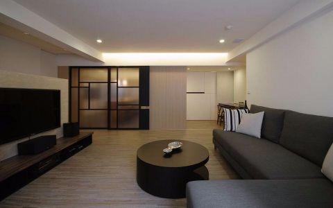 11.2万预算115平米三室两厅装修效果图