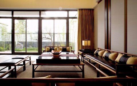 客厅沙发中式风格效果图