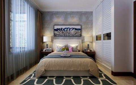 卧室吊顶现代简约风格装潢设计图片