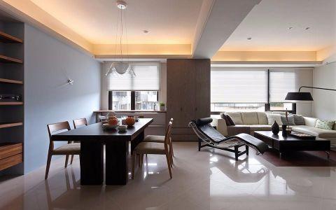蓝光锦绣城  现代简约 三室两厅 效果图
