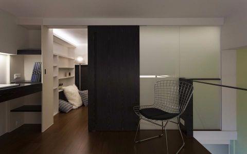 书房隔断现代风格效果图