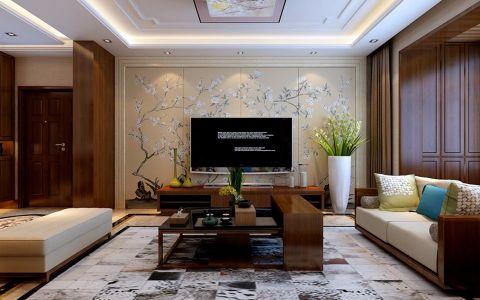 6.8万预算140平米三室两厅装修效果图