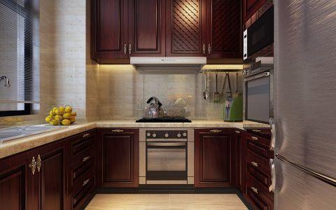 厨房窗帘新中式风格装饰图片