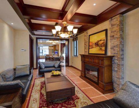 26万预算220平米四室两厅装修效果图