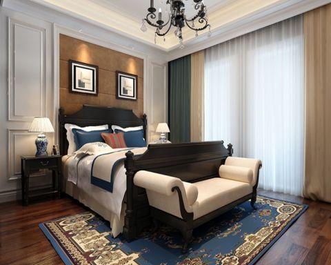 卧室照片墙新古典风格装修图片