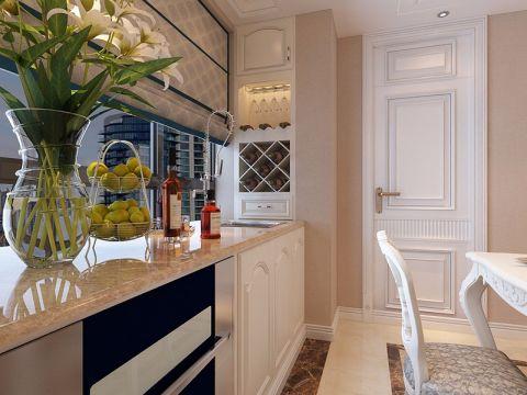 厨房吧台欧式风格装修设计图片