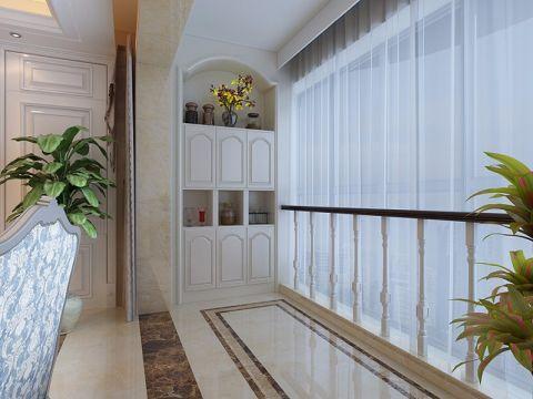 阳台窗帘欧式风格效果图