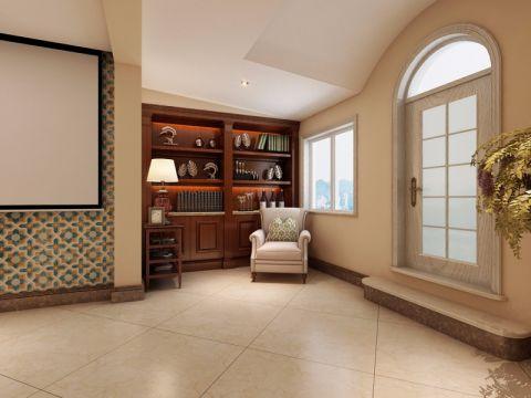 玄关背景墙新古典风格装潢设计图片
