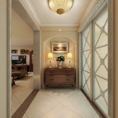 玄关背景墙新古典风格装饰图片