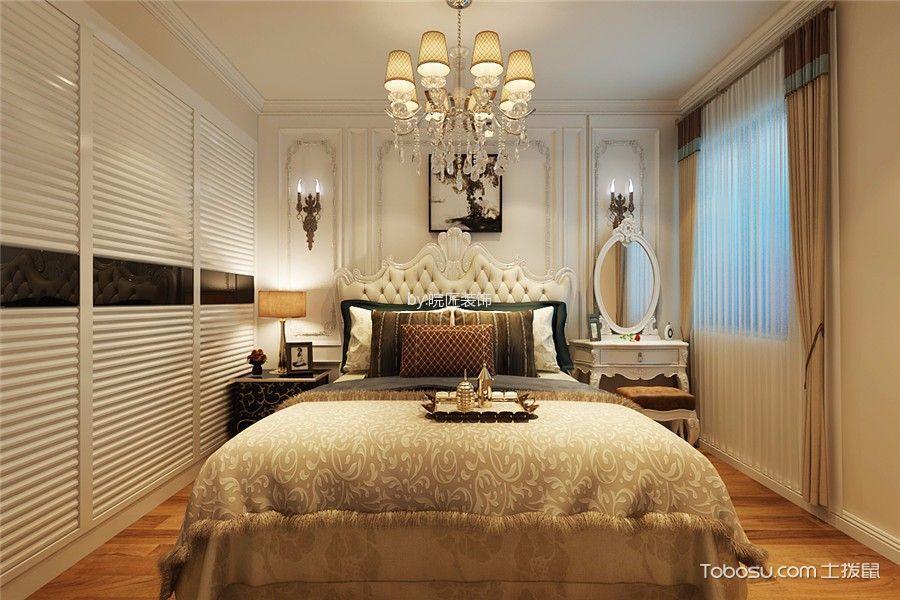 卧室白色梳妆台欧式风格装潢设计图片