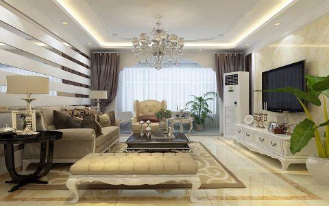 客厅简欧风格装修图片