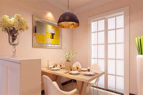 餐厅照片墙现代简约风格装潢图片