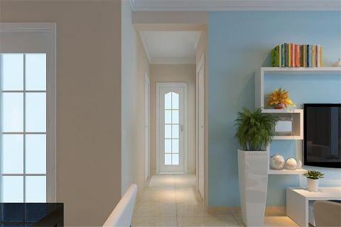 走廊简约风格效果图