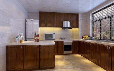 厨房吊顶新中式风格装饰效果图