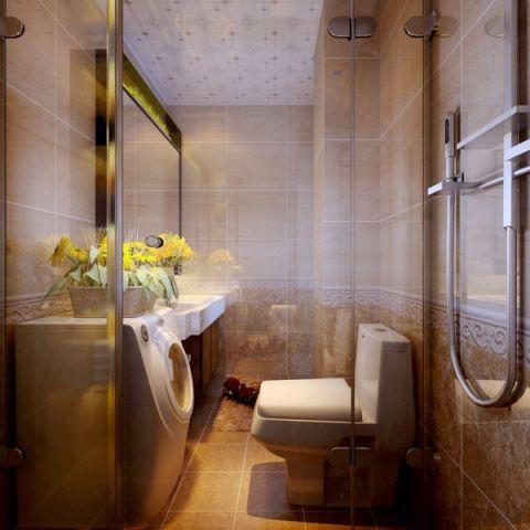 卫生间吊顶新中式风格装潢图片