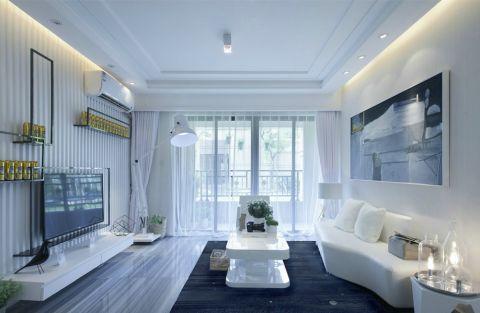 25万预算160平米公寓装修效果图