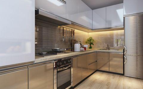 厨房背景墙新中式风格装潢效果图