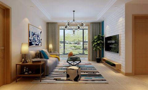4万预算128平米三室两厅装修效果图