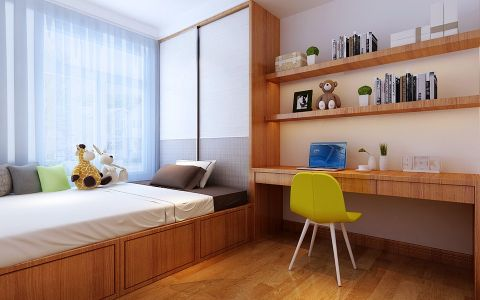 卧室榻榻米现代简约风格装修图片