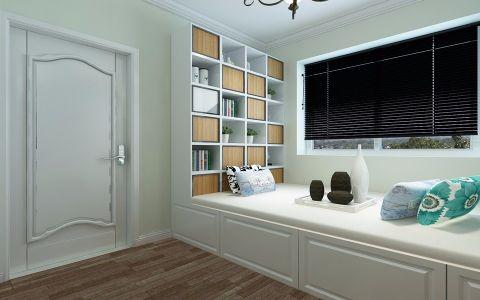 书房榻榻米欧式风格装饰设计图片