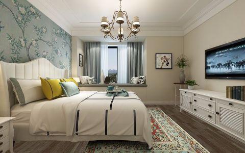 卧室飘窗欧式风格效果图