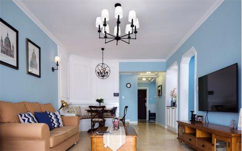 14万预算102平米三室两厅装修效果图