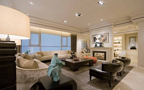 12.88万预算180平米四室两厅装修效果图