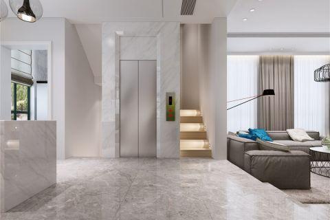 客厅楼梯北欧风格装修效果图
