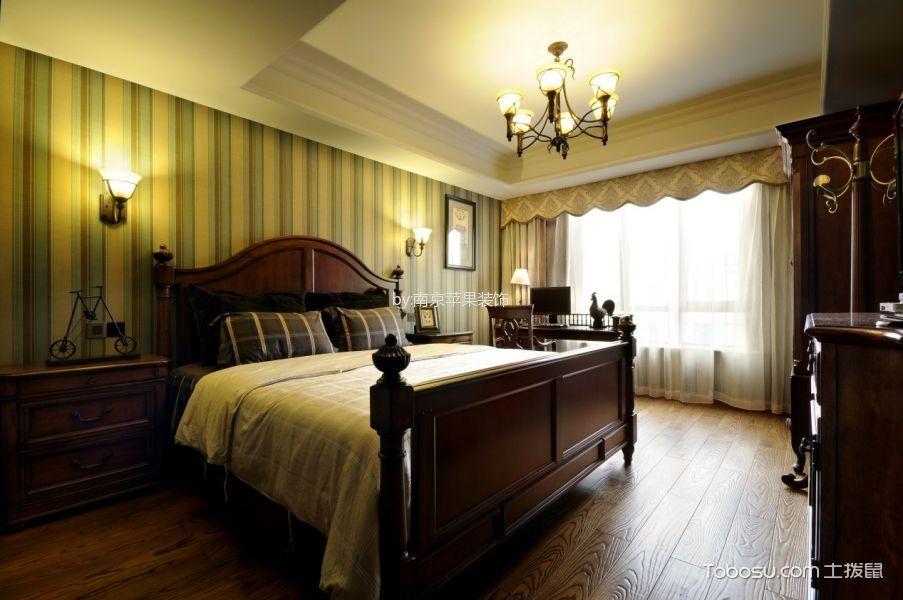 美式风格190平米4房2厅房子装饰效果图