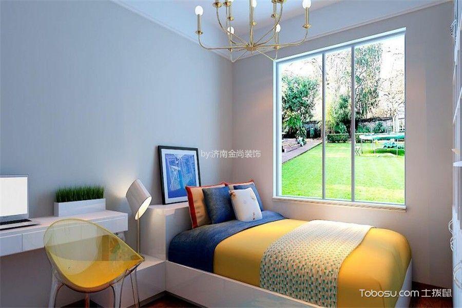 儿童房彩色床现代简约风格装饰设计图片