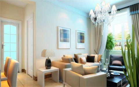 客厅简约风格装饰效果图