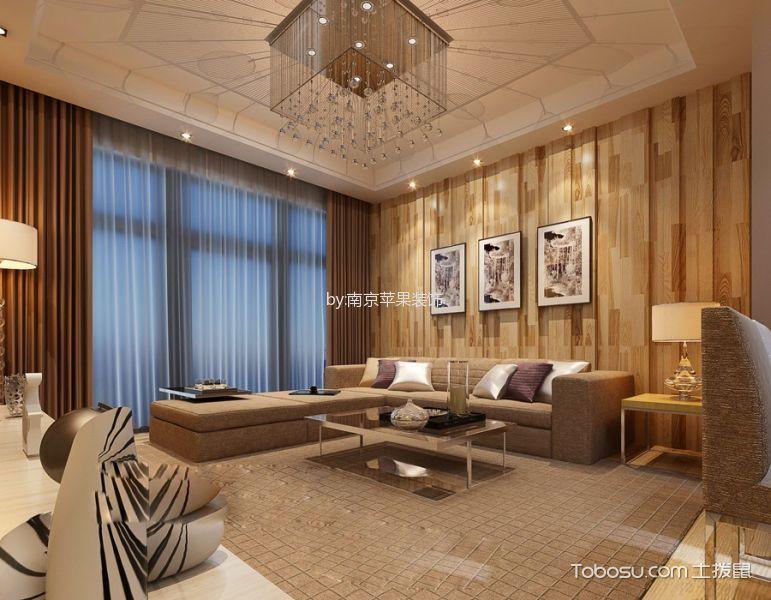 南京海峡城 160㎡简欧风格四居室效果图