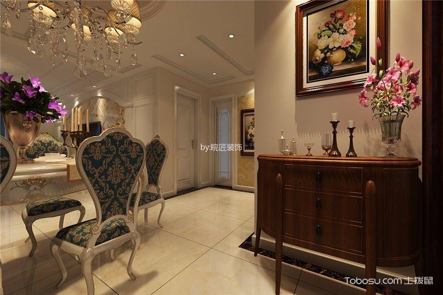 餐厅米色走廊欧式风格装修设计图片