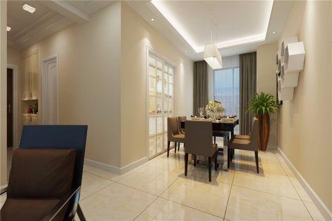 7万预算110平米三室两厅装修效果图