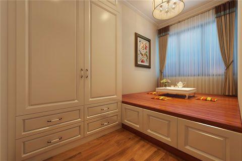 卧室榻榻米美式风格装修图片