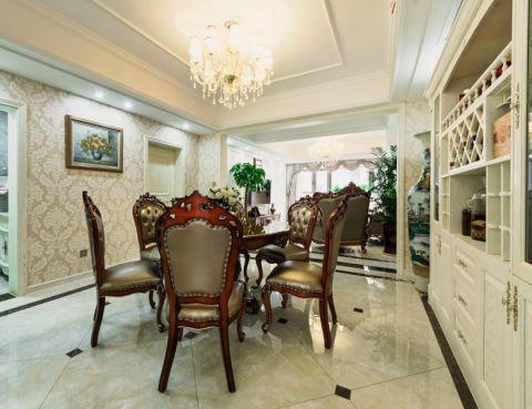 16.8万预算150平米三室两厅装修效果图