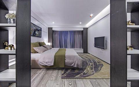 卧室隔断现代风格装潢设计图片