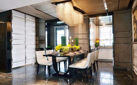 餐厅吊顶法式风格装潢图片