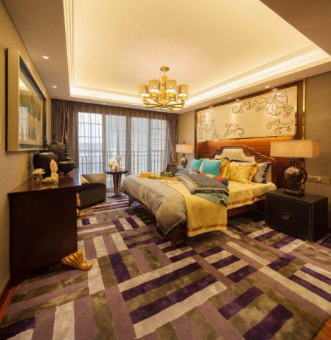 卧室吊顶简中风格装潢图片