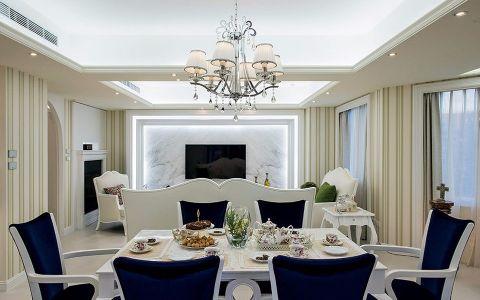 餐厅吊顶法式风格装饰效果图