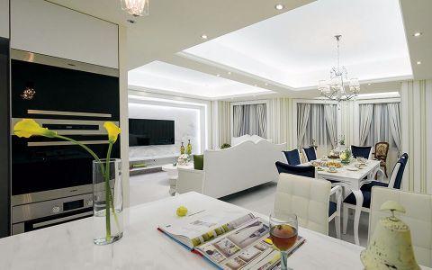 客厅窗帘法式风格装饰图片