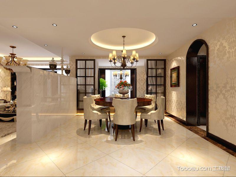 10万预算130平米两室两厅装修效果图