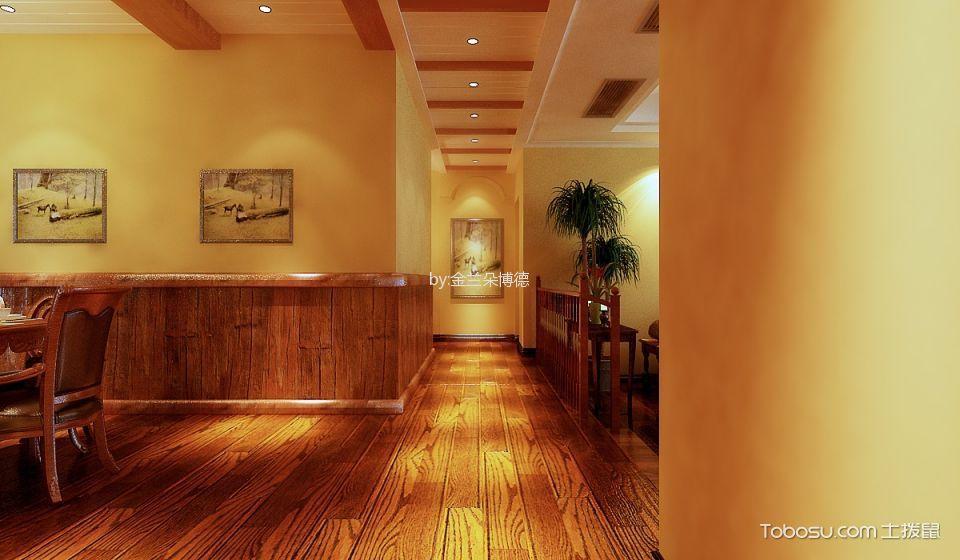 10万预算125平米三室两厅装修效果图