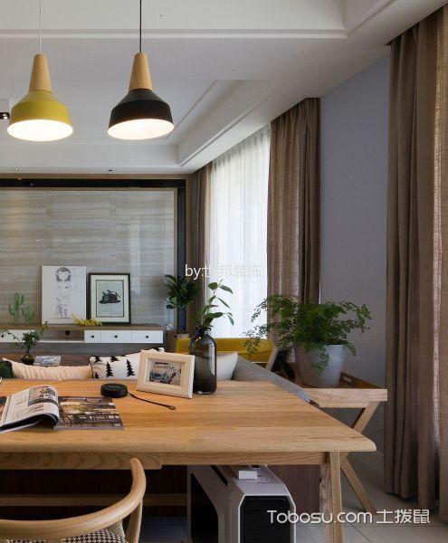 客厅黄色细节现代简约风格装饰图片