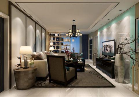 11万预算120平米两室两厅装修效果图