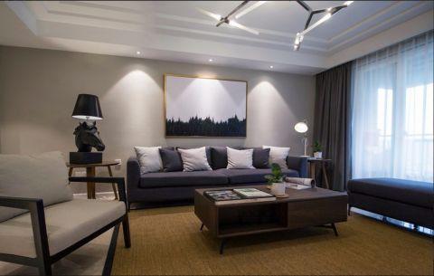 14万预算115平米三室两厅装修效果图